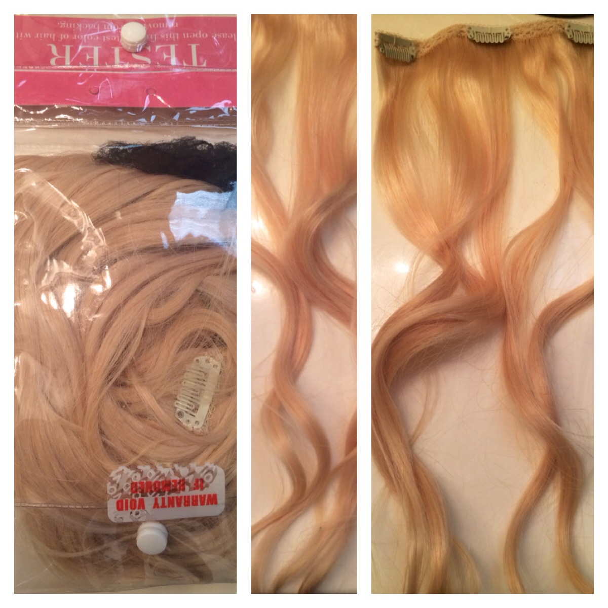 Bellami hair extensions jfk days mine is obviously open but they typically come in a hair net type thing for protection they also come straight mine are just pmusecretfo Choice Image