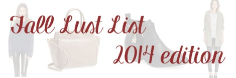 Fall Lust List Feature Photo