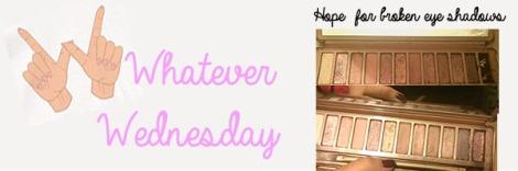 Whatever Wednesday Broken Eye Shadow